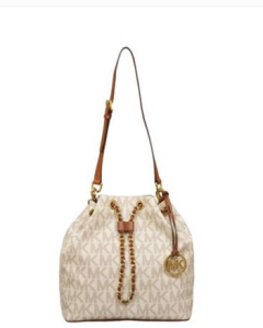 Enjoy 8% discount on Michael Kors Drawstring Shoulder Bag
