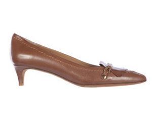 Enjoy 3% off on Moschino Leather Pumps