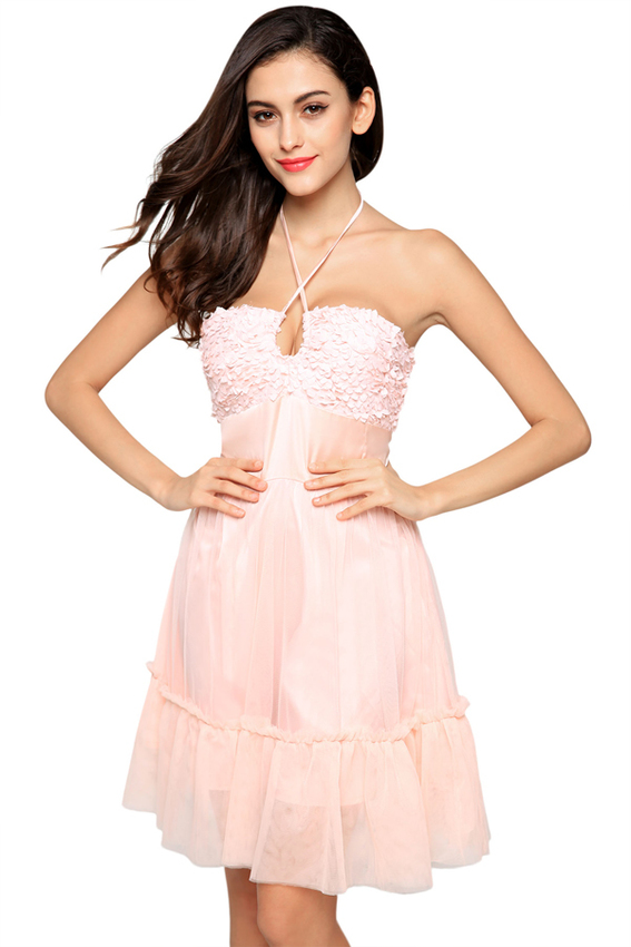 cyber-finejo-ladies-sexy-halter-neck-bandage-backless-net-yarn-splicing-party-mini-dress-pink-5538-9792174-2-zoom