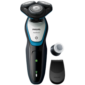 philips-aquatouch-wet-and-dry-electric-shaver-s5070-hitam-biru-gratis-philips-smartclick-oil-control-cleansing-brush-pro-6744-2996892-2-zoom1