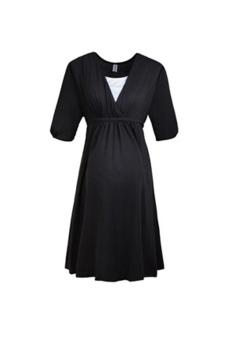 blackmaternitymini dress