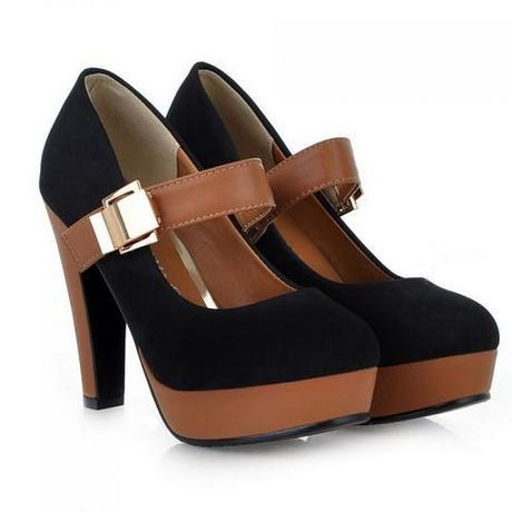 Buckle Pump High Heels
