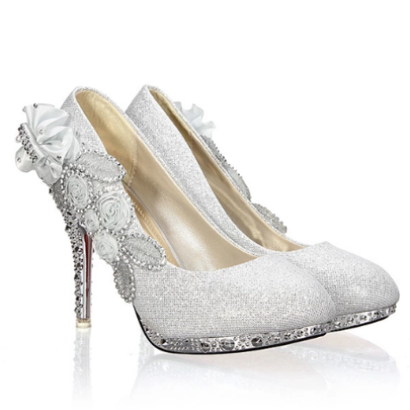 Party Crystal High Heels