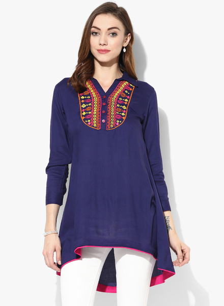 Sangria-Shirt-Collar-Tunic-With-Embroidered-Yoke-At-Front-0144-1344591-1-pdp_slider_l