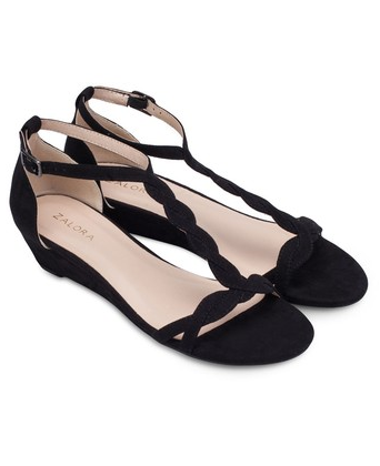 balck sandals