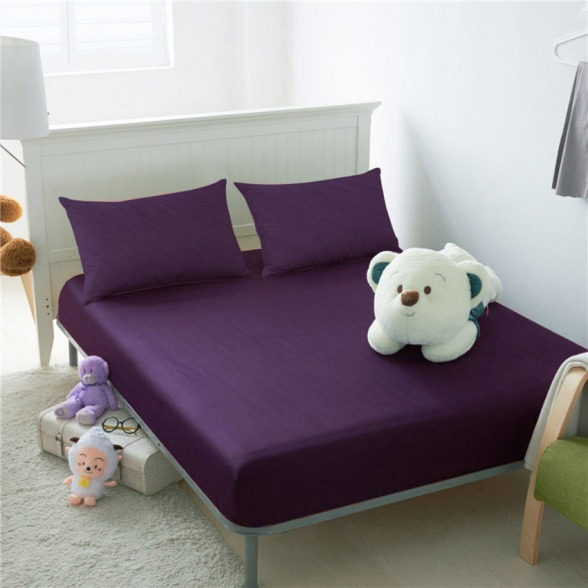 eky-home-collection-high-quality-cotton-colour-fitted-bed-sheet-set