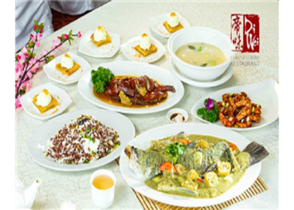 6-Course chinese meal