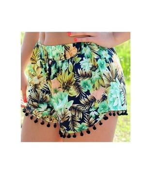 fringed shorts