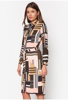 river-island-long sleeves midi selina