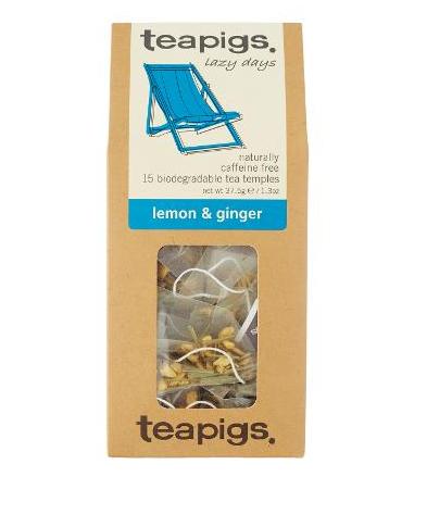 teapigs ginger and lemon