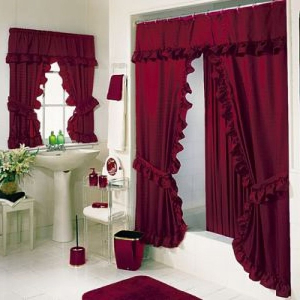 bathroom-window-curtains-and-rugs