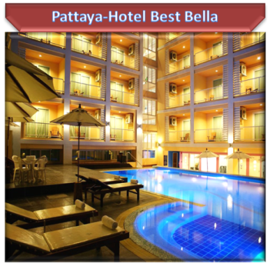 Pattaya-Hotel Best Bella