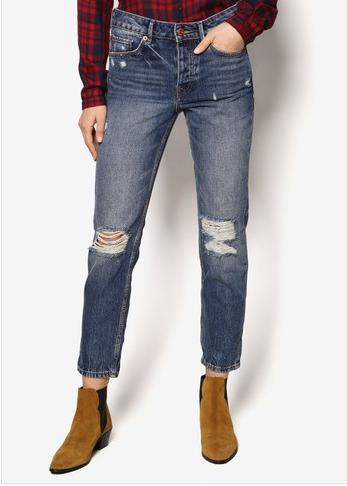 ripped jeans boyfriend