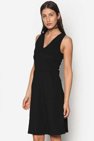 flared-dress