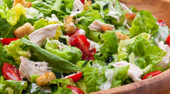 summer-caesar-chicken-salad