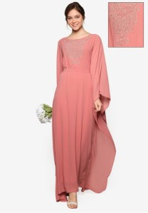 bridesmaid-metallic-embroidered-kaftan