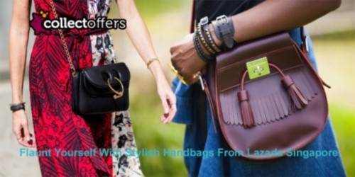 Flaunt Yourself With Stylish Handbags From Lazada Singapore