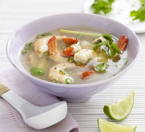 Clear Tom Yam Soup with Sea Food at Tamarind Hill