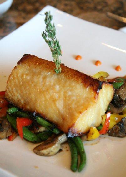 Chilean Seabass at Spark Restaurant