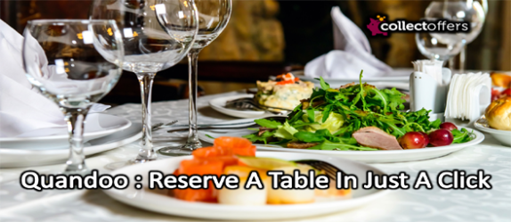 Quandoo : Reserve A Table In Just A Click