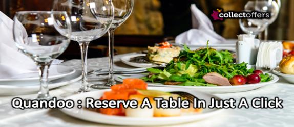 Quandoo : Reserve A Table In Just A Click