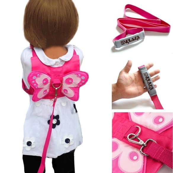 EPlaza-Butterfly-Baby-Walking-Safety-Harness-Reins-Toddler-Leash-Child-Kid-Strap-a