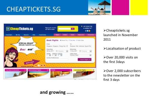 CheapTickets.sg Voucher Codes