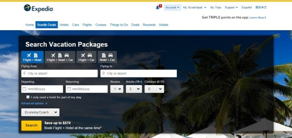Expedia Voucher Codes