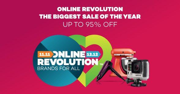 Online Revolution Sale