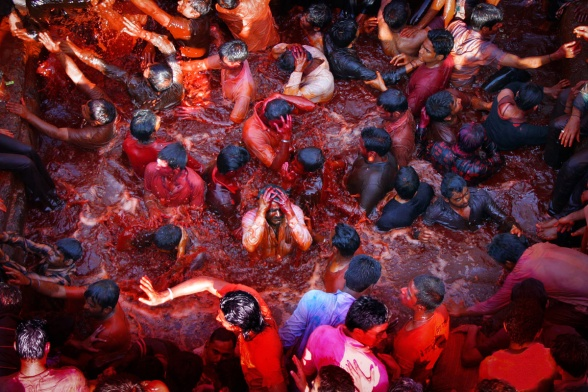 Holi in Maharastra, Holi celebration