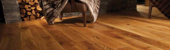 Wood flooring banner