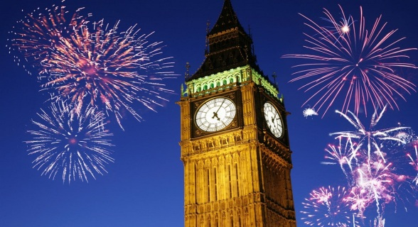 Big ben new year