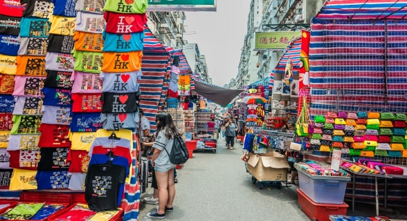Mongkok-market