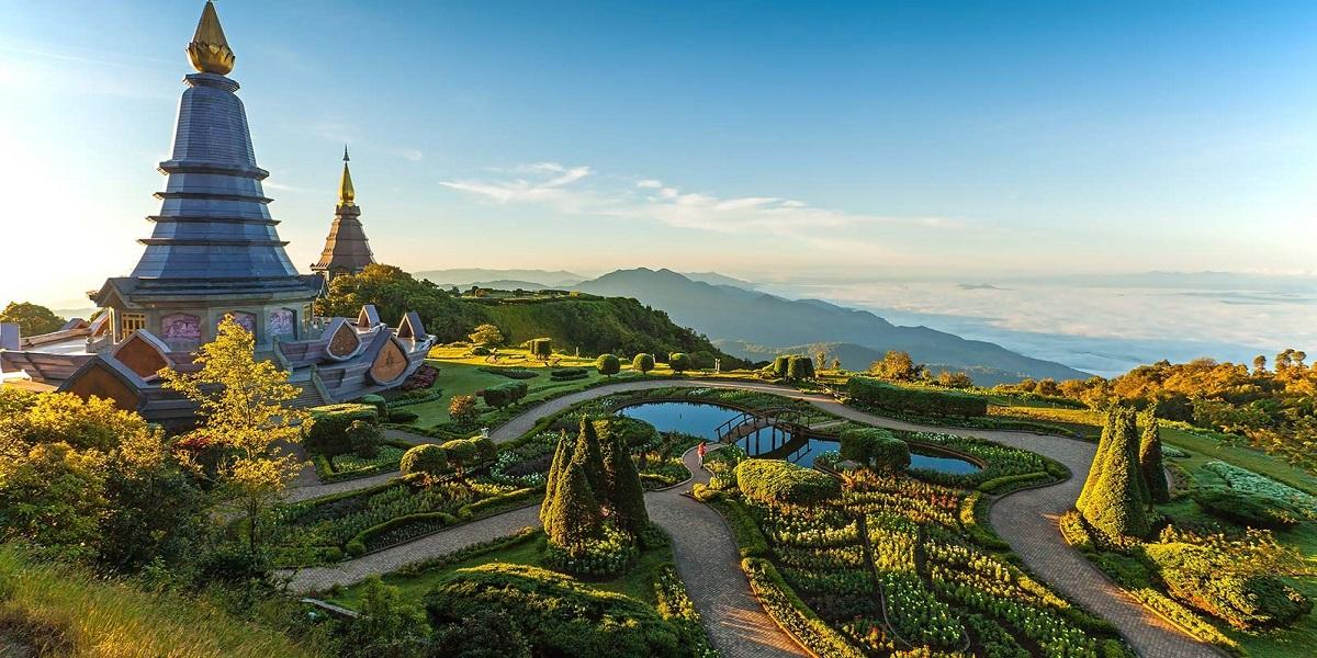 pagoda-in-an-Inthanon-mountain