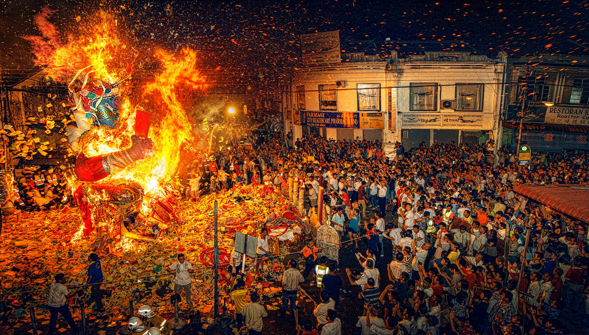 Dragon Fire Dance festival