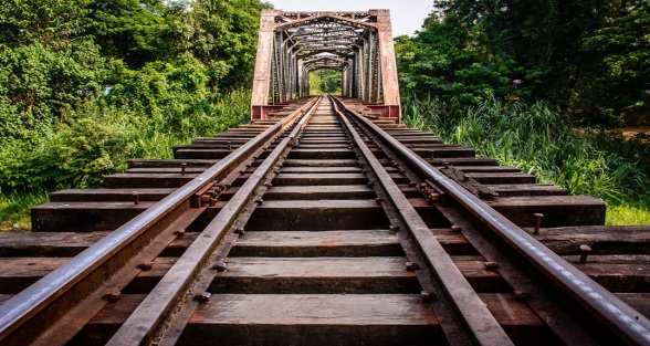 railway bridge in myanmar