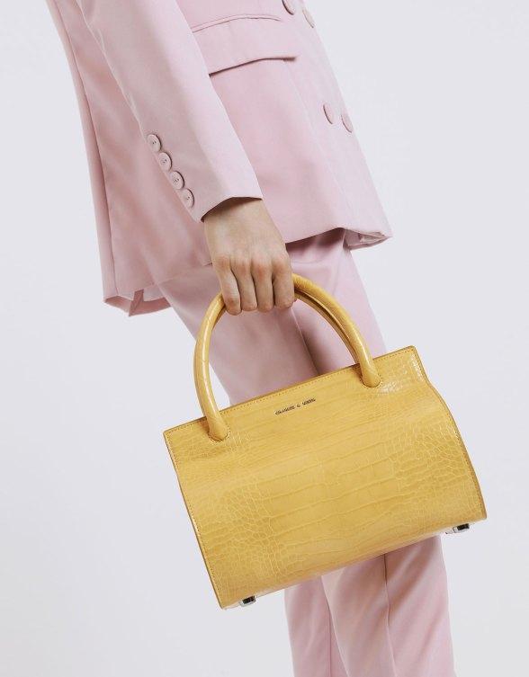 Croc-Effect Double Top Handle Structured Bag.jpg